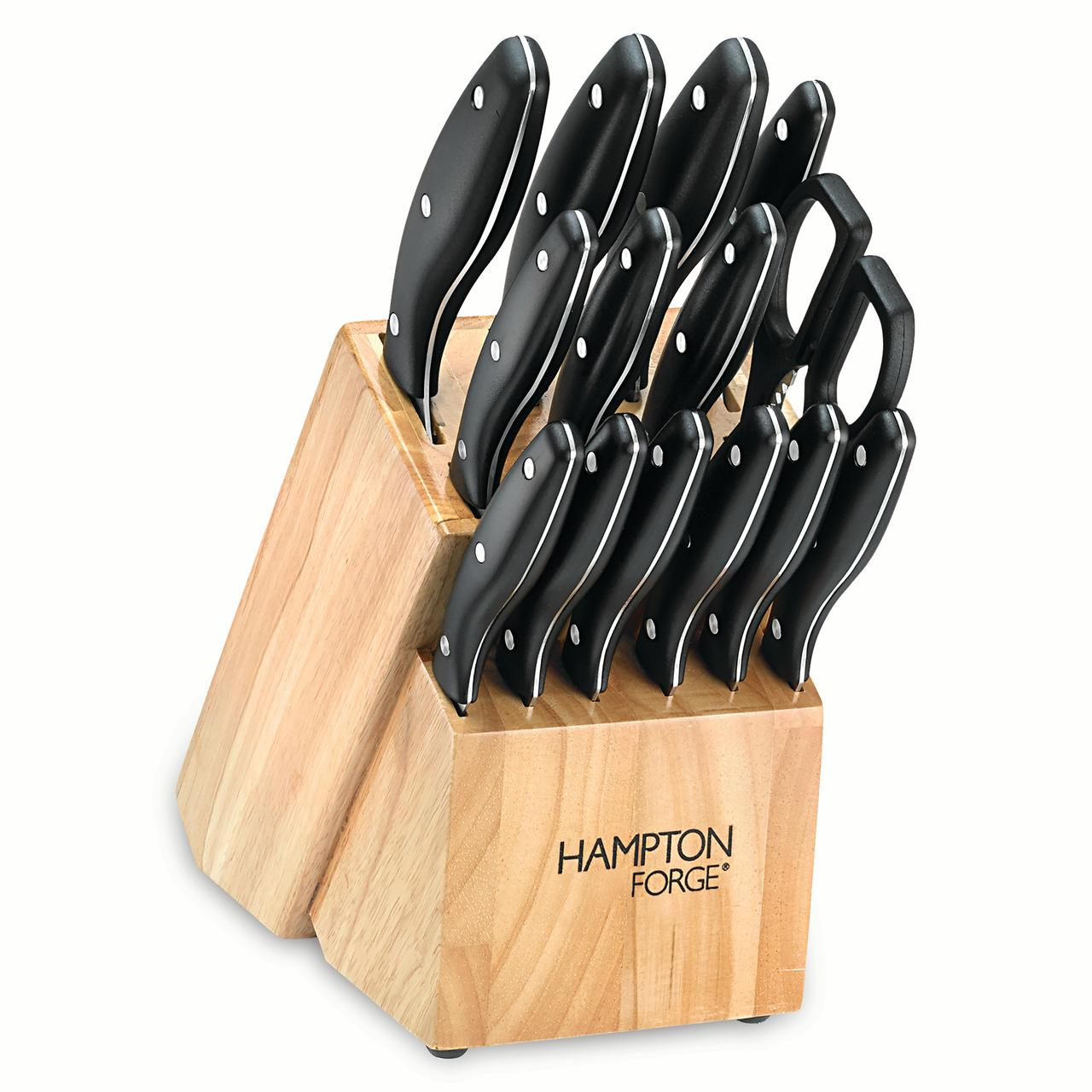 Hampton Forge Rochester 15 Piece Cutlery Block Set