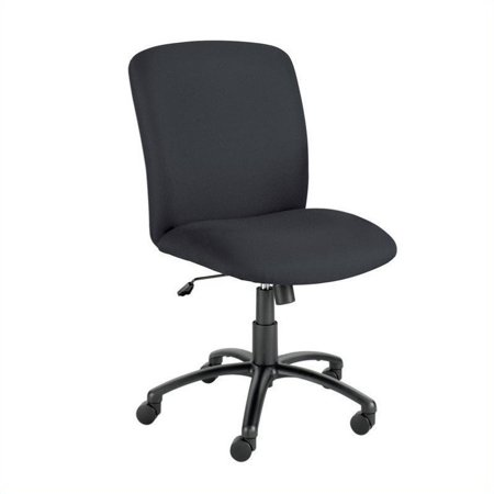 Safco Uber Big and Tall High Back Task Office Chair in Black - image 2 of 2