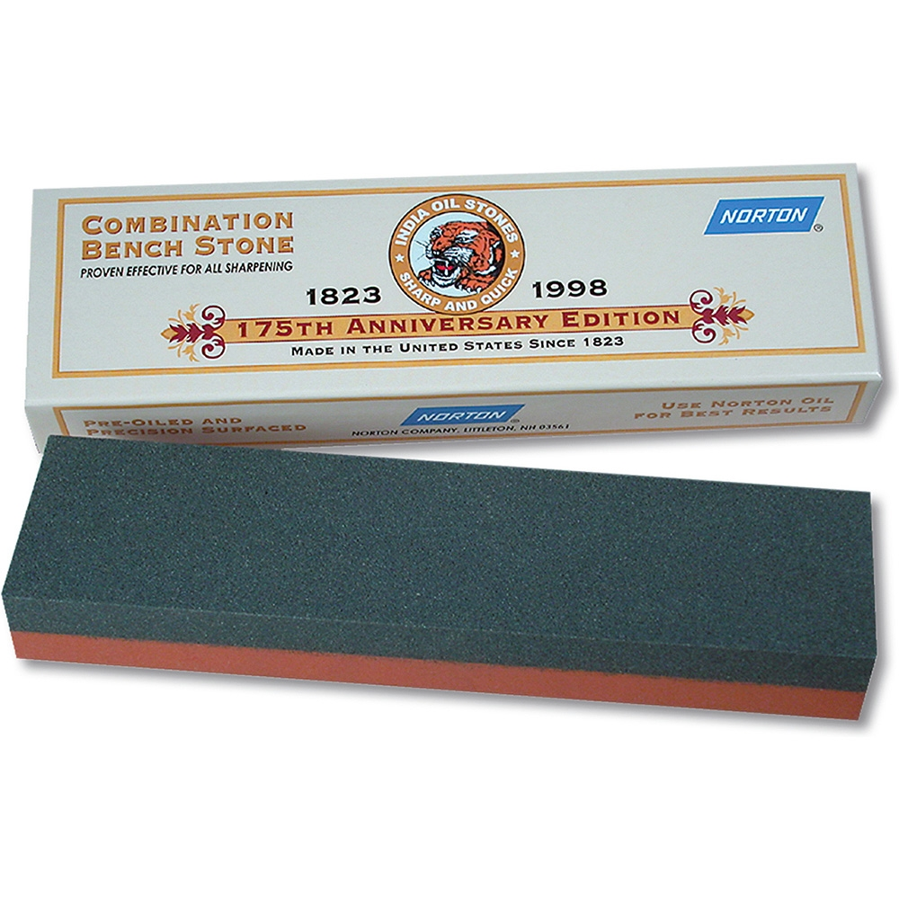 """Victorinox 8"""" x 2"""" x 1"""" Combination Sharpening Stone, Fine and Coarse, IB8... by Victorinox Commercial"""