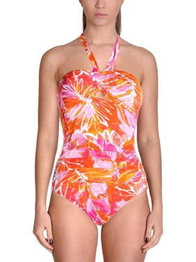 be813851 Lauren Ralph Lauren Womens One-piece Swimsuits - Walmart.com