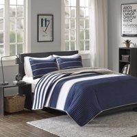 Comfort Spaces Verone Mini Quilt Set, Twin/Twin XL, Blue