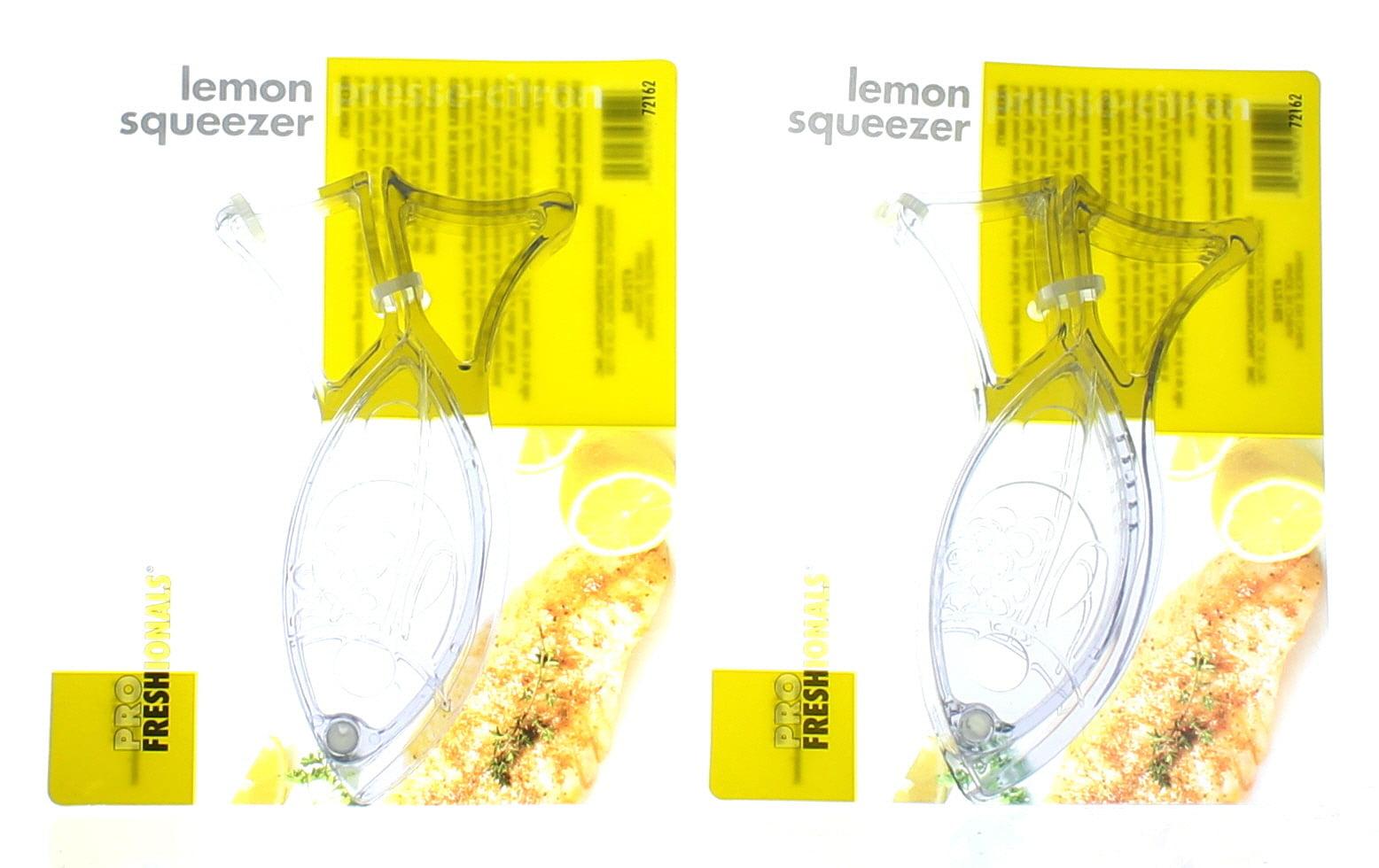 RSVP Acrylic /& Stainless Steel Fish Lemon Wedge Squeezer Juicer Kitchen Tool