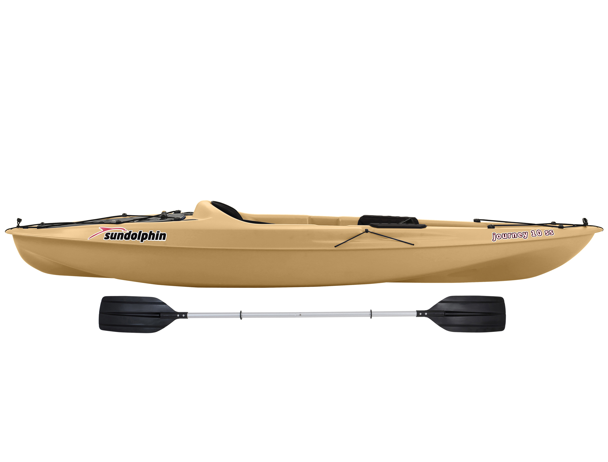 sun dolphin journey 10 ss sit on angler kayak olive paddle included