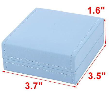 Birthday Gift Bracelet Bangle Jewelry Display Storing Storage Box Light Blue - image 1 de 4
