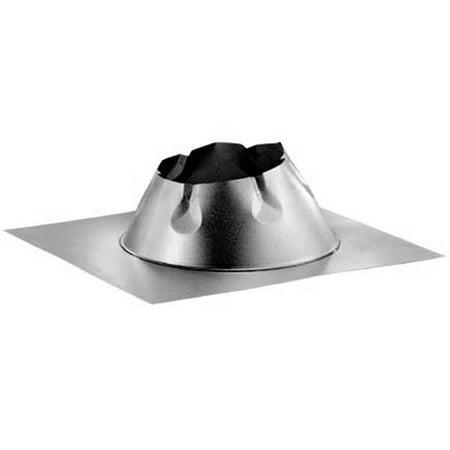 Duratech 8' Large Base Adjustable Roof Flashing 0/12 - 6/12