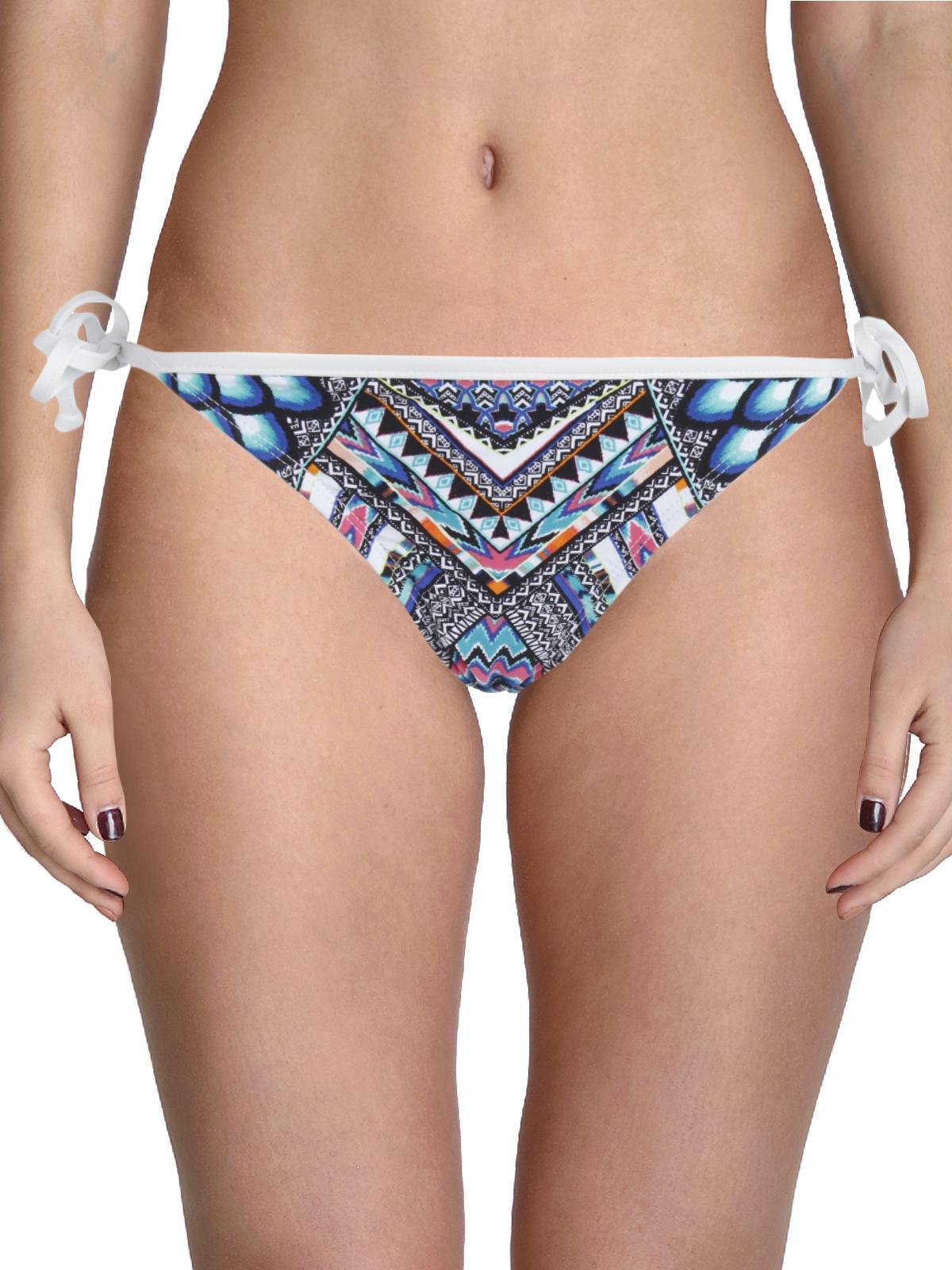 Bikini Lab Womens Juniors Birds Of A Feather Printed Swim Bottom Separates