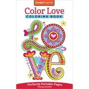 Design Originals-Color Love Coloring Book