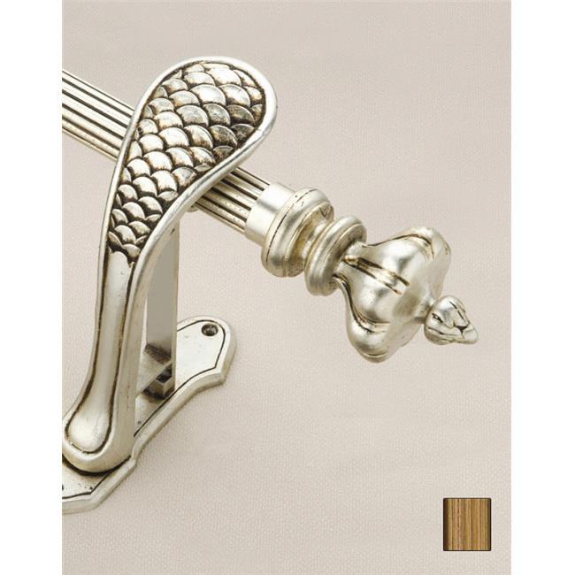 WinarT USA 8. 1069. 45. 30. 280 Palas 1069 Curtain Rod Set - 1. 75 inch - 110 inch