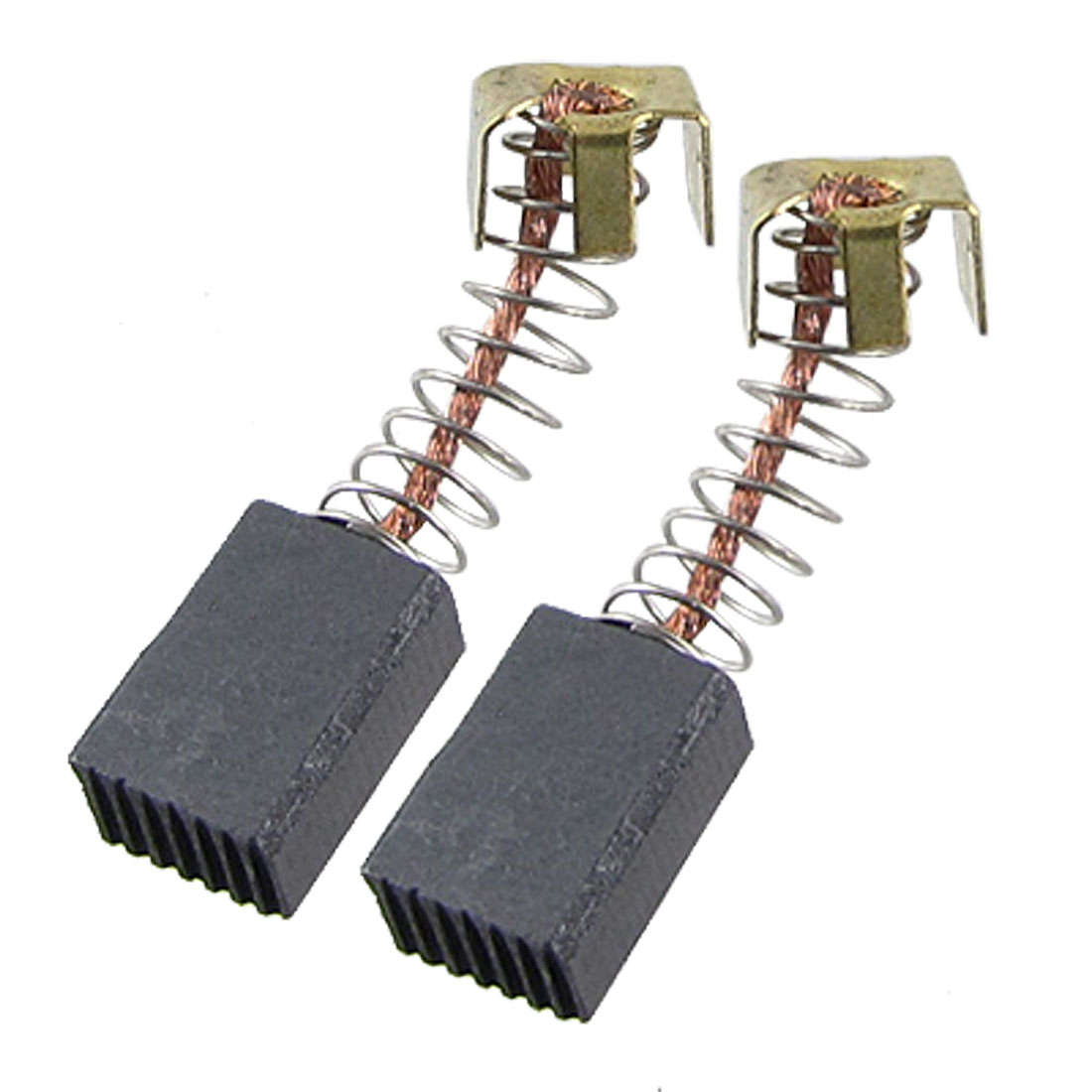 "8 Pcs Power Tools Parts Carbon Brush 27/64"" x 5/16"" x 1/5"""