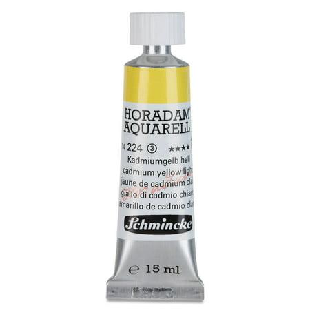 Schmincke Horadam Aquarell Artist Watercolor - Cadmium Yellow Light, 15 ml tube