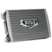 BOSS Audio AR1200.2 Armor 1200 Watt, 2 Channel, 2/4 Ohm Stable Class A/B, Full Range, Bridgeable, MOSFET Car Amplifier with Remote Subwoofer Control