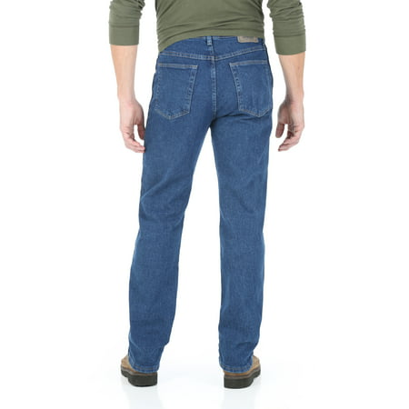 regular solution series jean s comforter flex wrangler authentics waist size pockets comfort fit waistband men mens