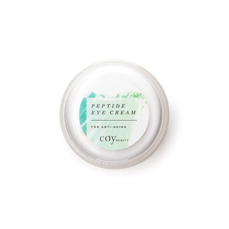 Coy Beauty - Peptide Eye Cream for Under-Eye Bags, and Dark Circles,  Unscented