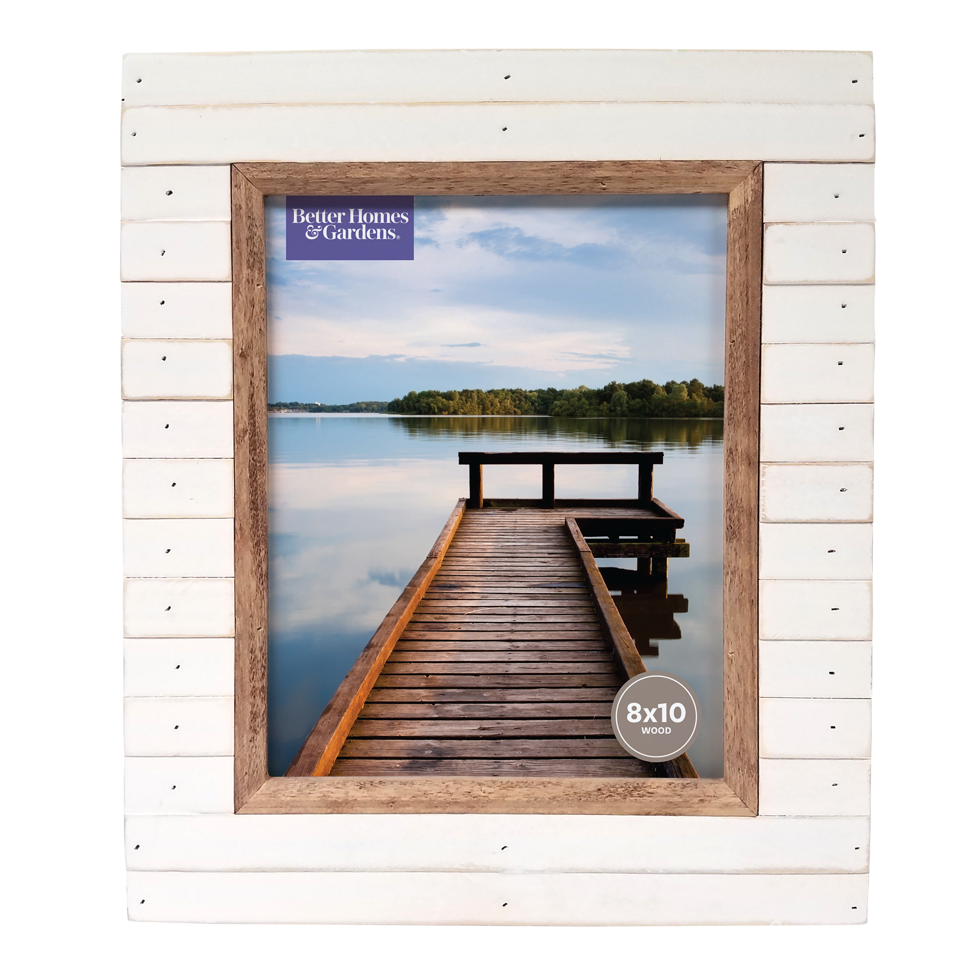Better Homes and Gardens Oracoke 8x10 Frame, Cream