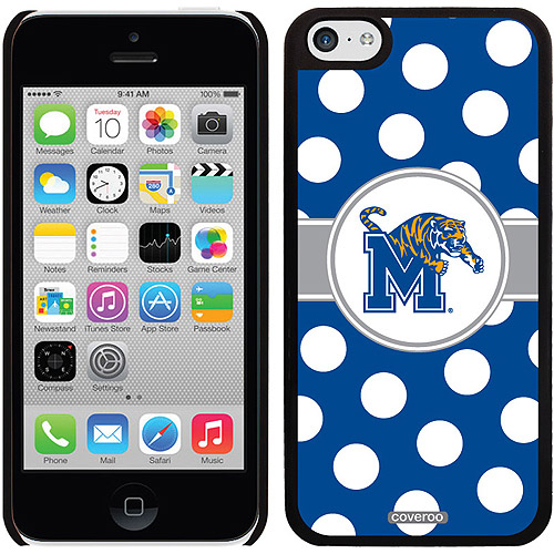 Memphis Polka Dots Design on iPhone 5c Thinshield Snap-On Case by Coveroo
