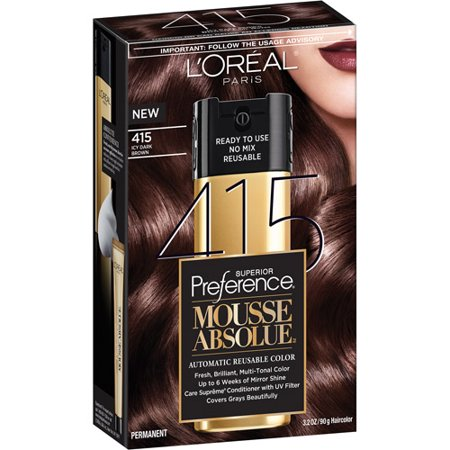 L'Oreal Paris Superior Preference Mousse Absolue Hair Color Kit ...