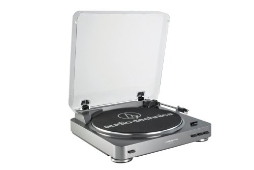 Audio Technica AT-LP60 Fully Automatic Belt Driven Turntable (atpl60) by Audio-Technica