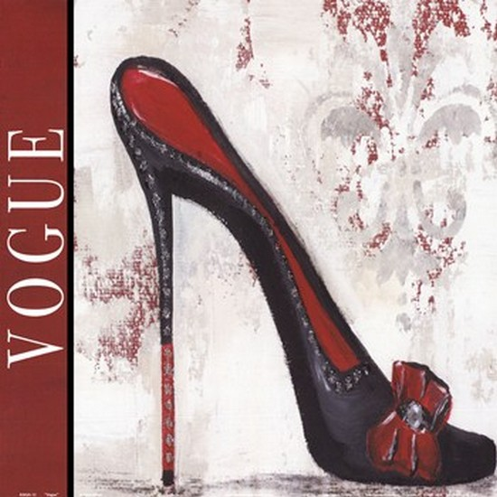 Vogue Poster Print by Gina Ritter (12 x 12)
