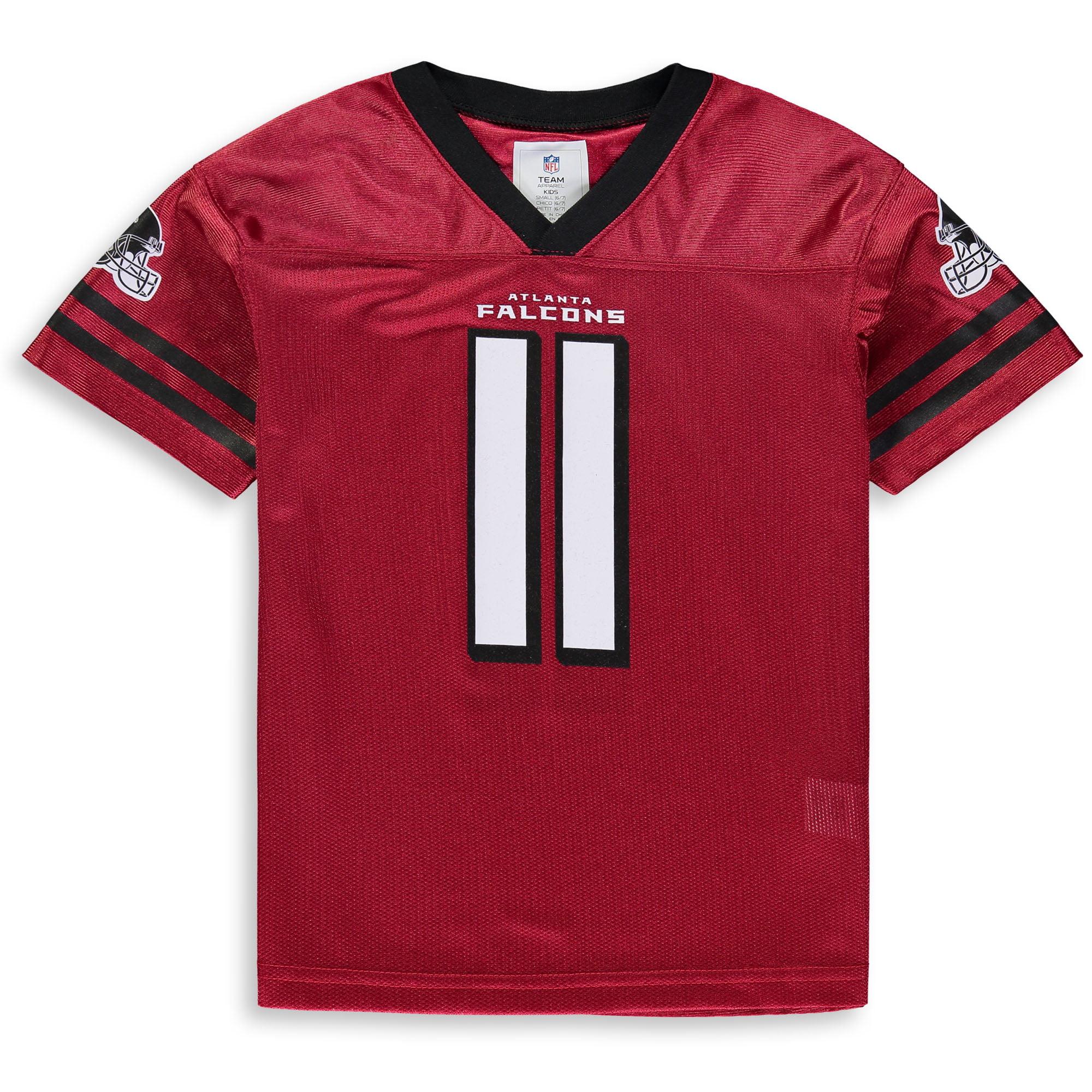 fb9eb8272d57a Youth Julio Jones Red Atlanta Falcons Team Color Jersey - Walmart.com