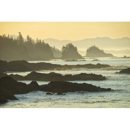 Canada, British Columbia Vancouver Island, Ucluelet, West Coast Print Wall Art By Christian Heeb ()