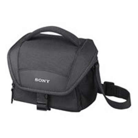 Sony LCS-U11 - Case for digital photo camera / camcorder - black - for Cyber-shot DSC-HX80, WX500; Handycam HDR-CX450, CX455, CX485, CX675, PJ210, PJ675; a6300 (Sony Digital Camera Case)