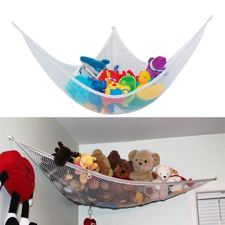 Bett Toy Hammock Net Kids Room Jumbo Organizer Stuffed Doll