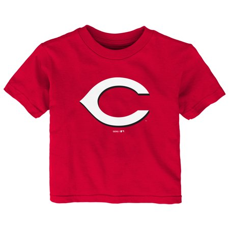 Cincinnati Reds Infant Primary Logo T-Shirt - Red