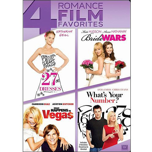 27 Dresses   What Happens In Vegas   Bride Wars   What's Your Number by