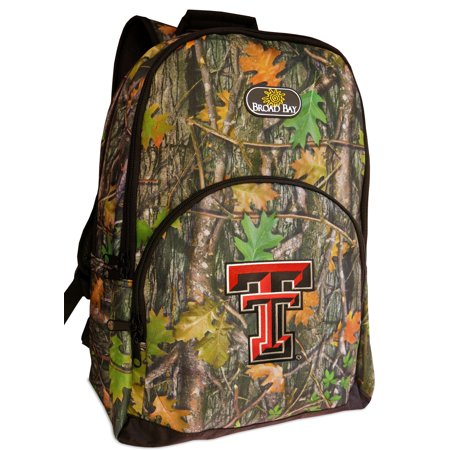 6cdd2c16736d CAMO Texas Tech Backpack Best Texas Tech Red Raiders Backpacks & School Bags