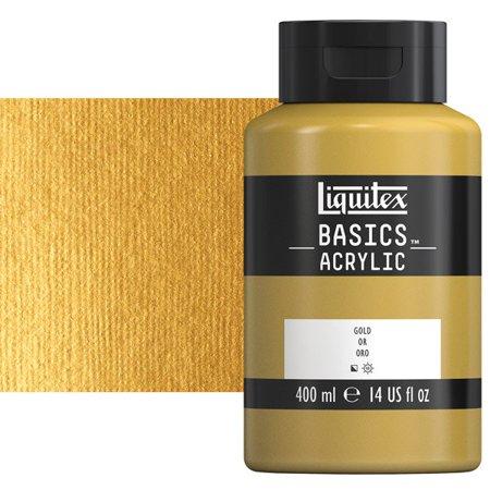 Liquitex Basics: Gold, 13.5 Ounce Squeeze Bottle