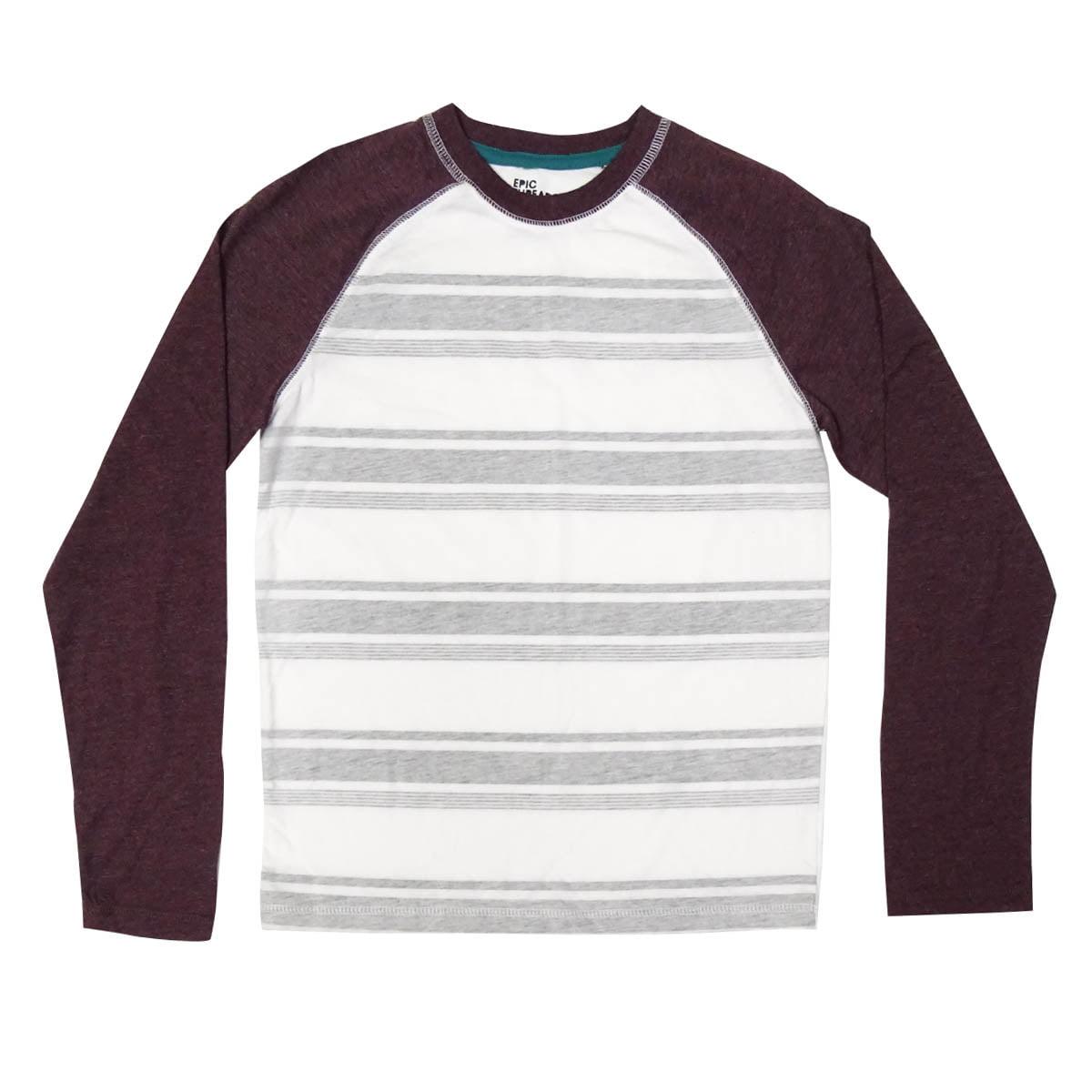 Epic Threads Boys' Shawnee Striped Raglan Shirt