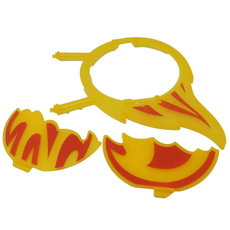 Blaze and The Monster Machines Pit Area Car Set - Replacement Rings of Fire - DGK55 - Blaze Card