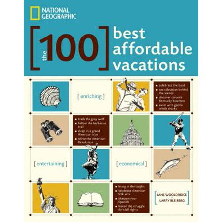 The 100 Best Affordable Vacations - eBook