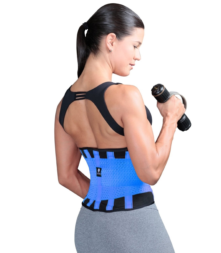 1b2b190223b ShapEager Body Shaper Faja TECNOMED Belt Back Brace Waist Cincher  Activewear fitness Weight Lift Workout Lower Back Support Abdominal Reducer  High Control ...