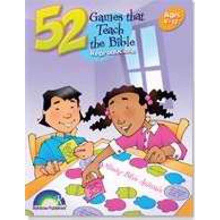 52 Games That Teach the Bible: Ages 3-12 by