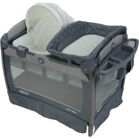 Graco Pack N Play Newborn Napper Oasis Playard With Soothe Surround Technology   Davis