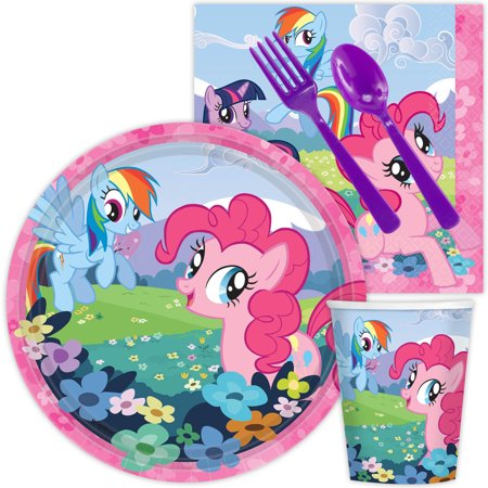 My Little Pony Standard Kit Pack (Serves 8) - Party Supplies - My Little Pony Party