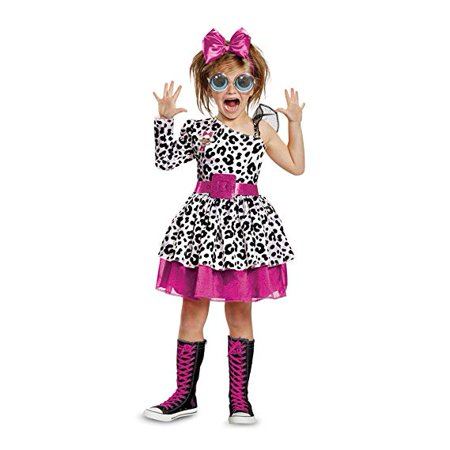 L.O.L Dolls Diva Deluxe Child Halloween Costume - Halloween Makeup Dolls