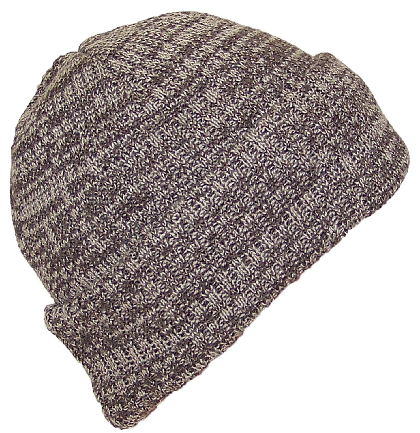 49ed22a6494 Best Winter Hats Adult 2 Tone Color Thick W Fleece Lined Cuffed Winter Hat  (One Size) - Gray - Walmart.com