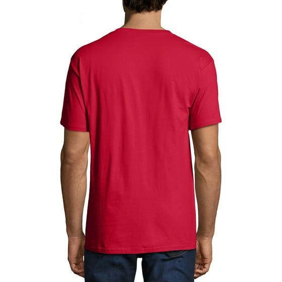 7b271426eff9 Hanes - Men's Premium Beefy-T Short Sleeve T-Shirt With Pocket, Up ...