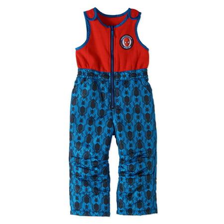 Spider-Man Toddler Boys' Ski Bib Snowpants