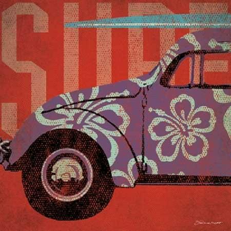 Surf  Bug Poster Print by  Stephanie Marrott