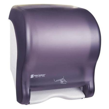 San Black Dispenser (San Jamar T8400TBK Smart Essence Electronic Roll Towel Dispenser, Black)