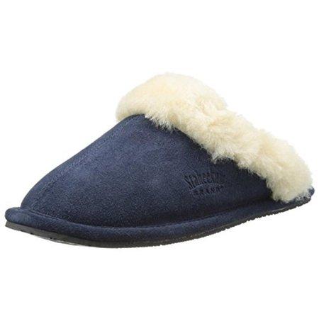 08fbe77e242 Staheekum - Staheekum Womens Cressida Slipper Suede Wool Lined Slip-On  Slippers - Walmart.com