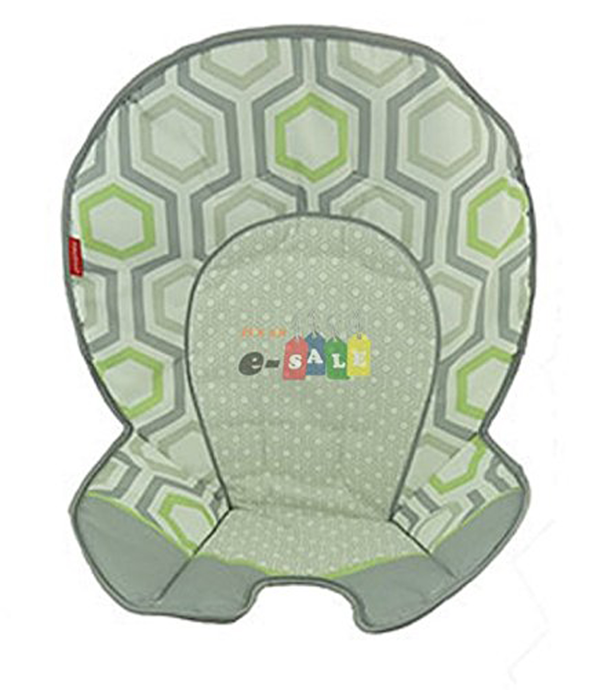 Fisher Price SpaceSaver High Chair Geo Meadow Replacement Pad DKR70 by Fisher-Price