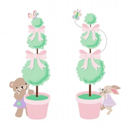 Elephants on the Wall 5-1332 Teddy Bear Topiaries - Paint It Yourself