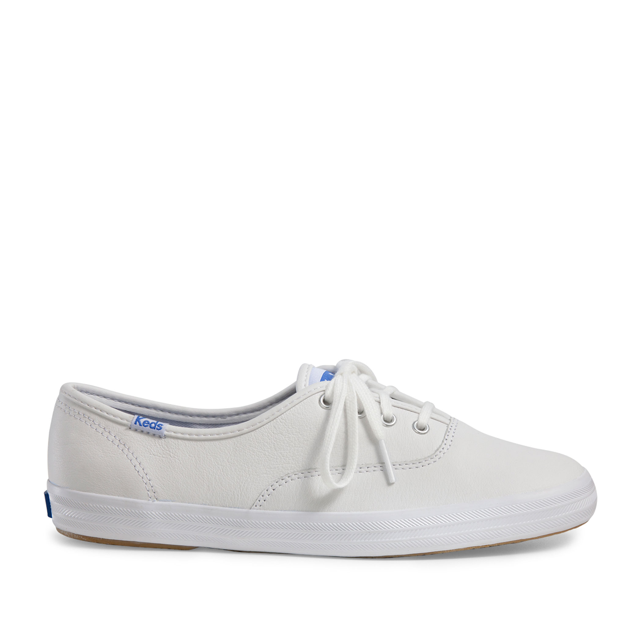 45e7c2994bb2 Keds Women s Champion Leather Oxford Shoe in White