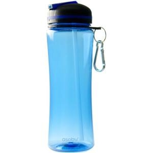 Image of TRITAN WATER BOTTLE WITH FREE FLOW SPOUT AND STRAW