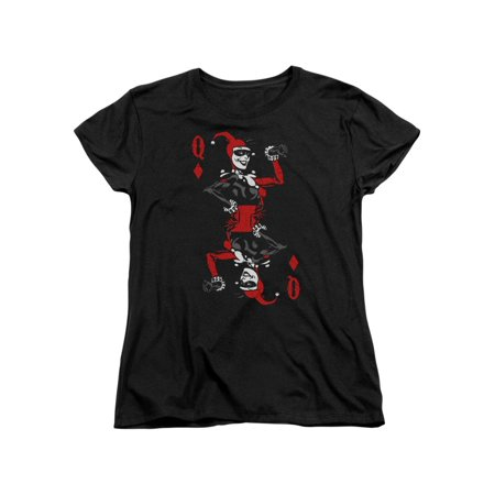 Harley Quinn Clothing (Batman DC Comics Harley Quinn Queen Card Women's T-Shirt)