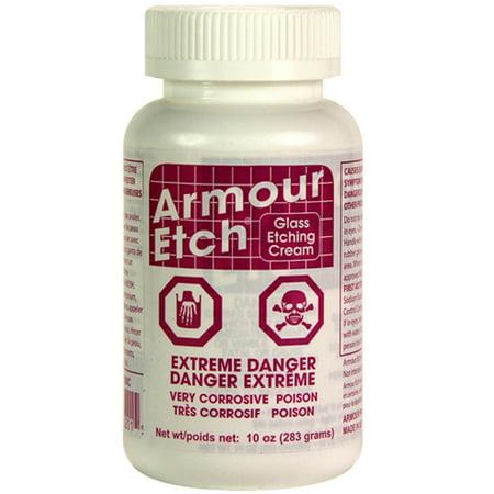 Glass Etching Cream - Canada-10oz Armour Etch Glass Etching Cream